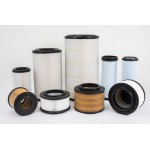 Round Soft PU Air Filter
